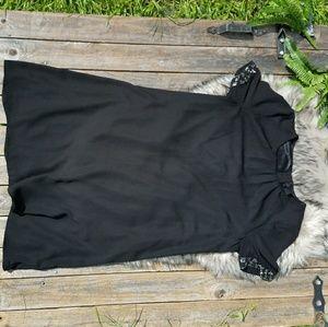 H&M Little Black Lace Dress Size 12